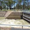 Mildura Weir and lock<br /> <br /> Zsilipelés Mildurában