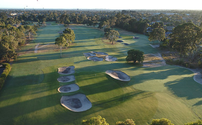 The Yarra Yarra Golf Club (Aerial), Victoria, Australia