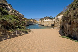 Inside the Loch Ard Gorge