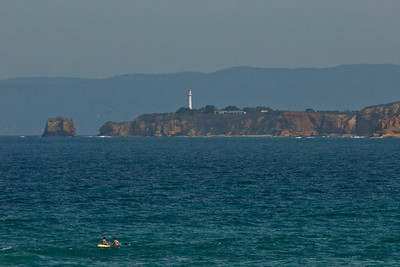 Boaters and Lighthouse - Great Ocean Road- Victoria- Australia