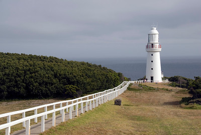 Lighthouse and Path 2 - Great Ocean Road, Victoria, Australia