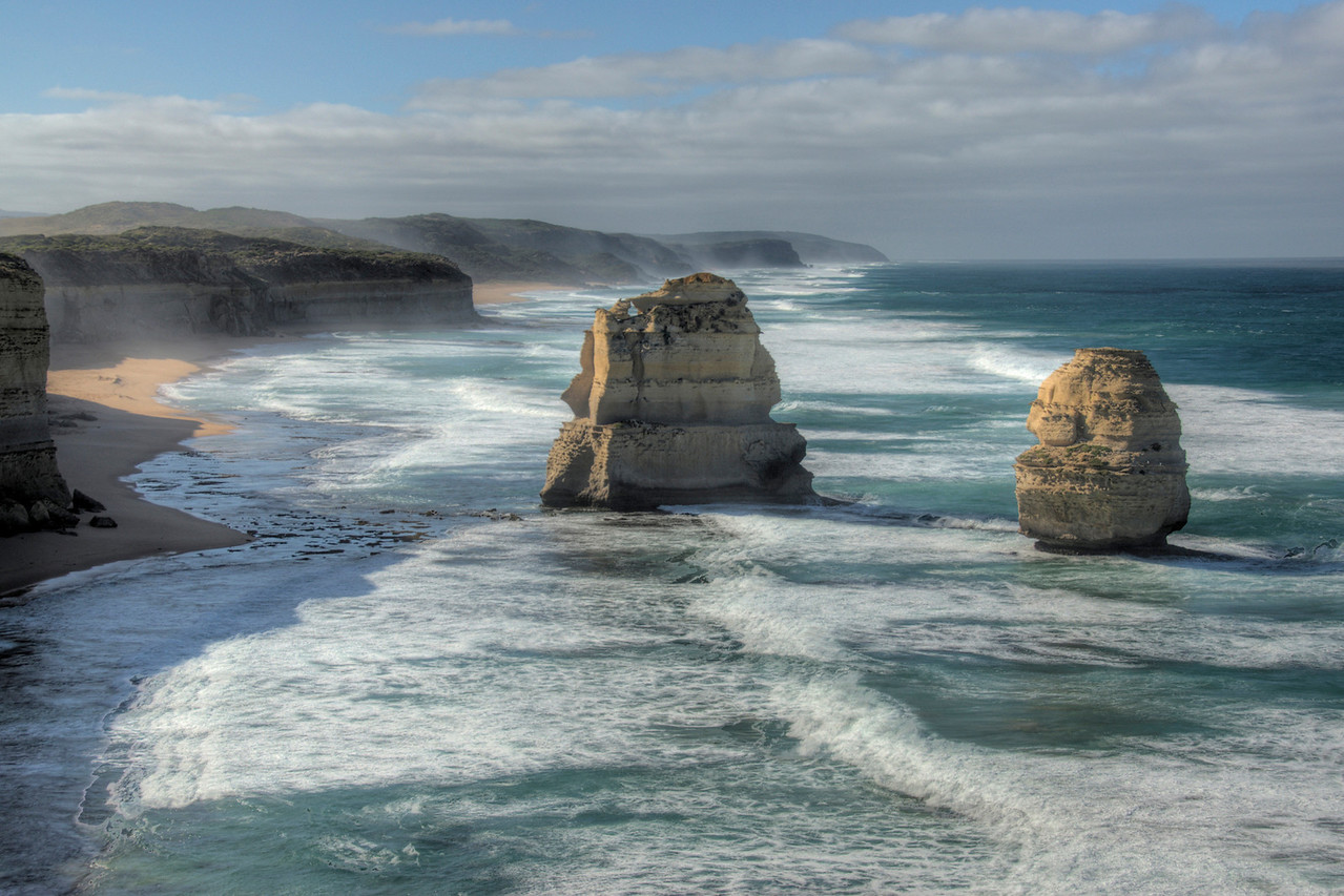 Twelve Apostles HDR 3 - Great Ocean Road, Victoria, Australia