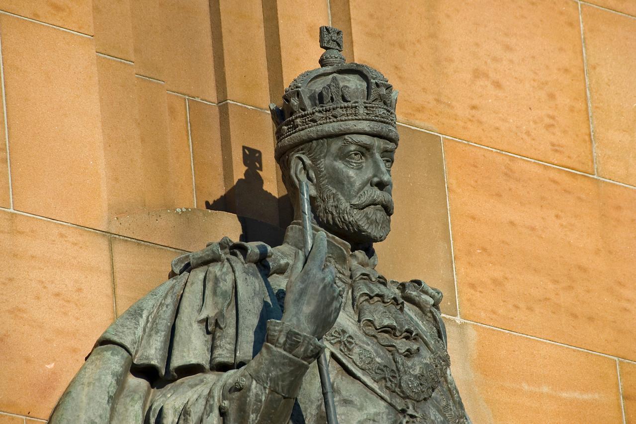 King George Statue - Melbourne, Victoria, Australia