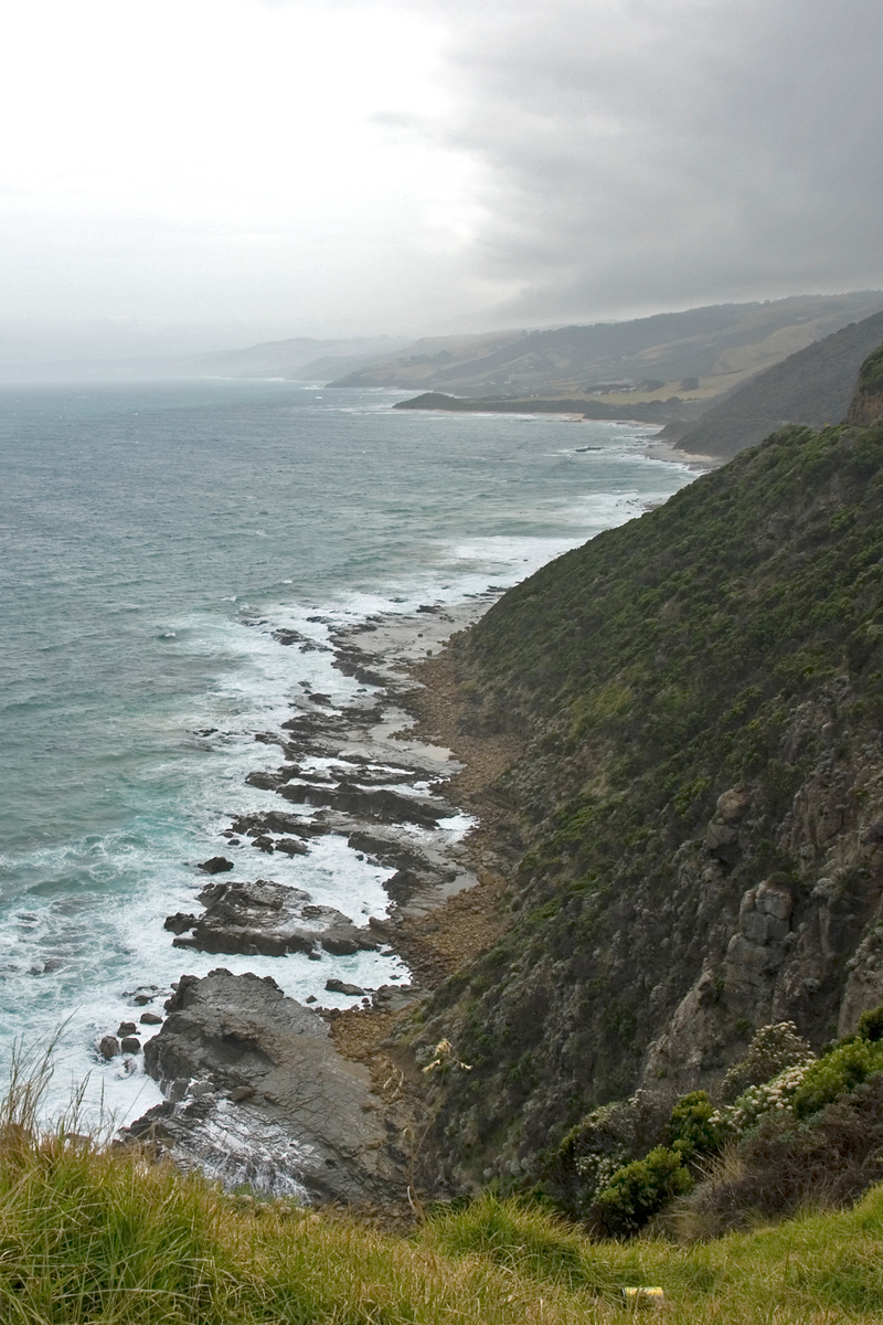 Southern Ocean on the Great Ocean Road, Australia