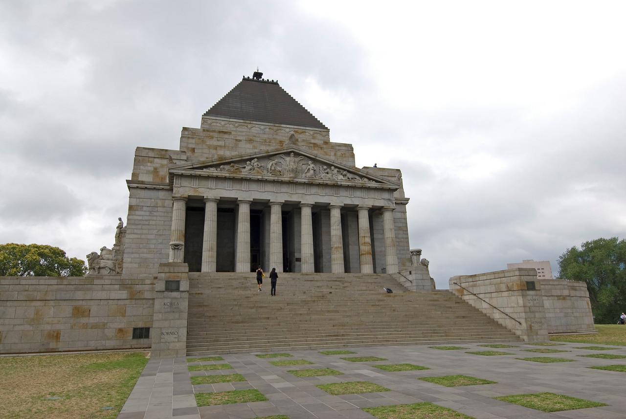 Shrine of Remberance - Melbourne, Victoria, Australia