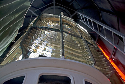 Inside Split Rock Lighthouse - Great Ocean Road, Victoria, Australia