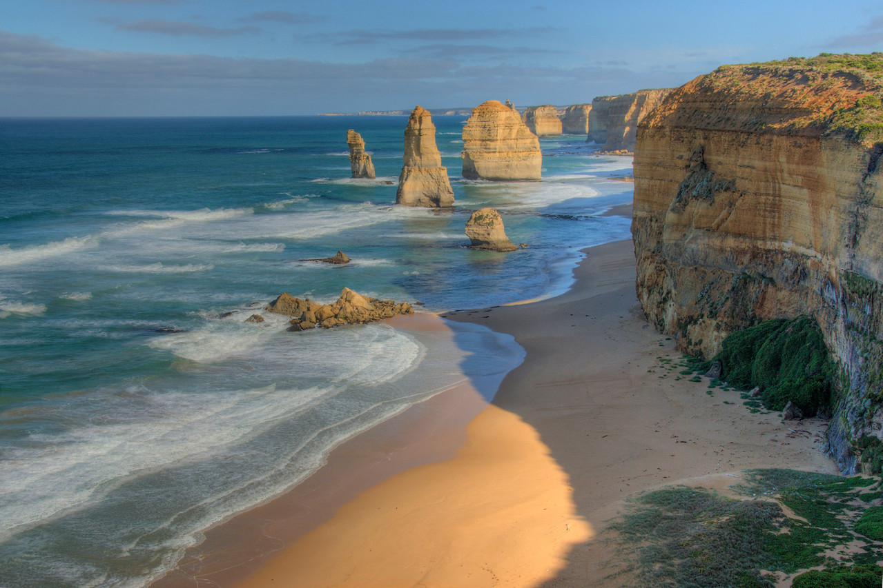 Twelve Apostles HDR 1 - Great Ocean Road, Victoria, Australia
