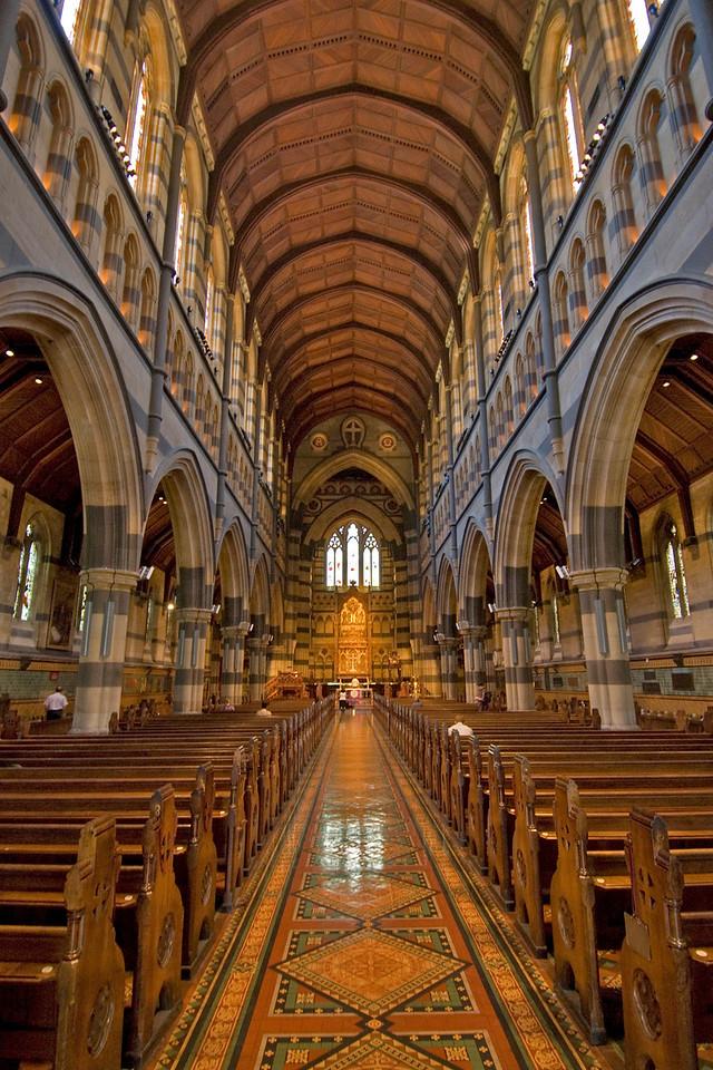 Melbourne Anglican Cathederal - Melbourne, Victoria, Australia