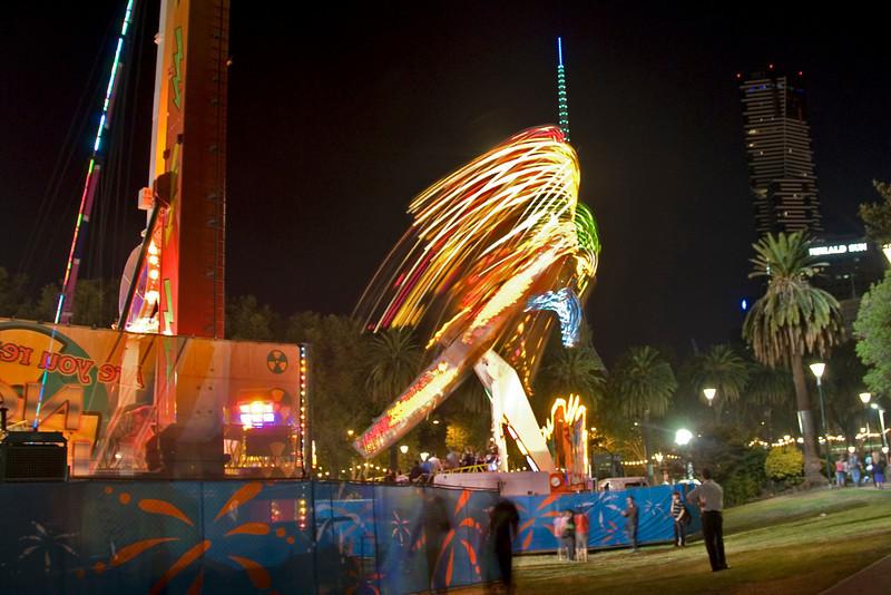 Carnival Night Shot 1 - Melbourne, Victoria, Australia