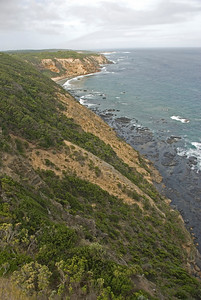 View From Split Rock Lighthouse - Great Ocean Road, Victoria, Australia
