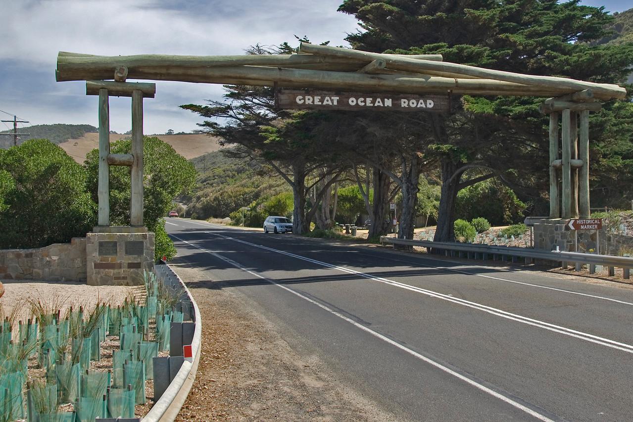 Sign -  - Great Ocean Road, Victoria, Australia