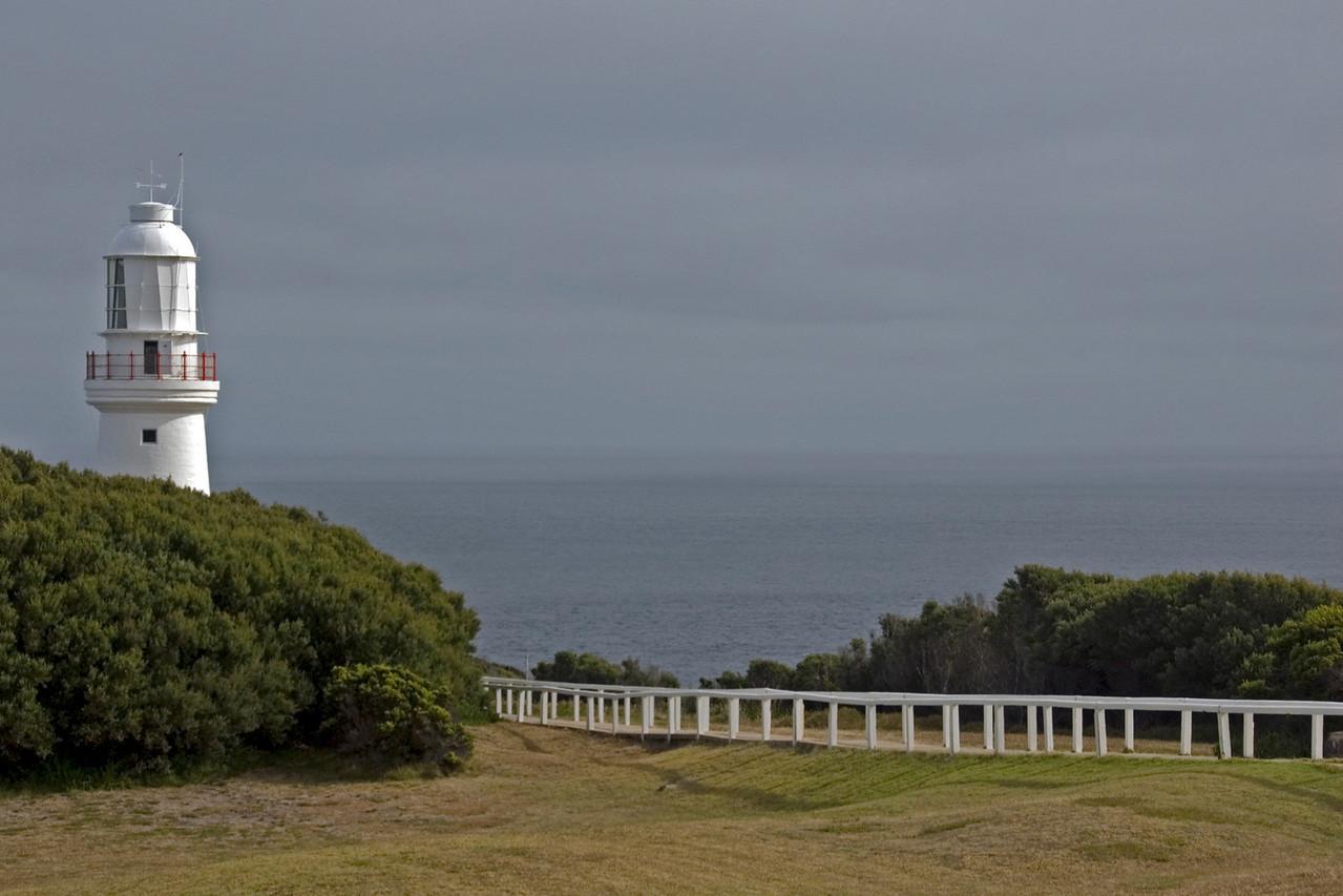 Split Rock Lighthouse and Path - Great Ocean Road, Victoria, Australia