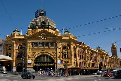 Flinders Street Station - Melbourne, Victoria, Australia