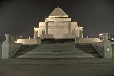 Shrine of Remberance HDR 2 - Melbourne, Victoria