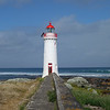 Griffiths island lighthouse - Port Fairy<br /> <br /> Griffiths szigeti világítótorony - Port Fairy