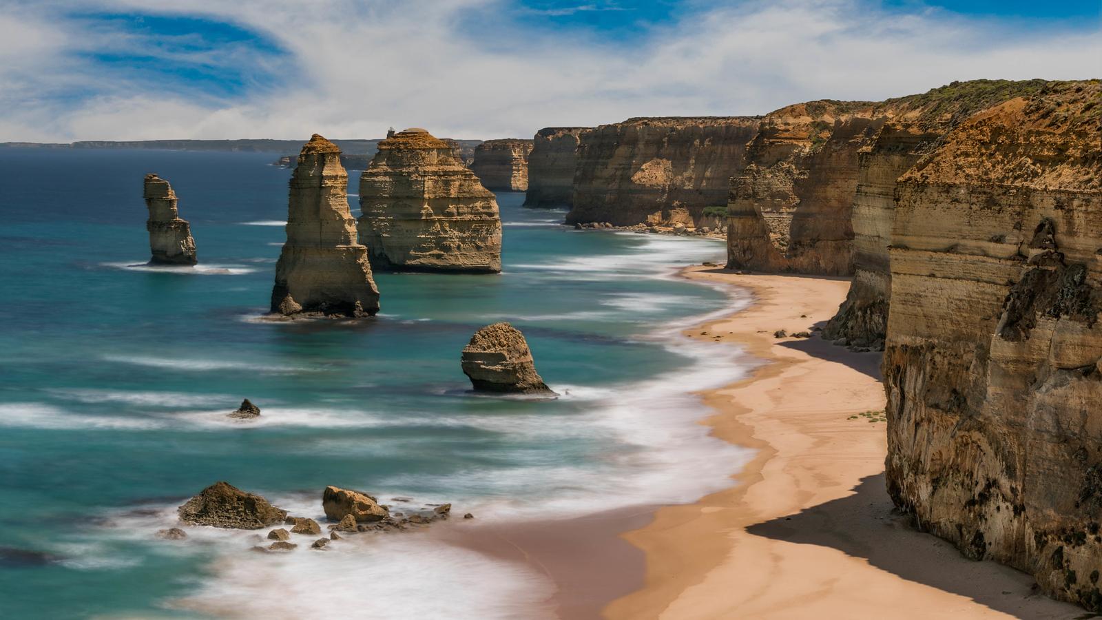 The 12 Apostles in Victoria, Australia