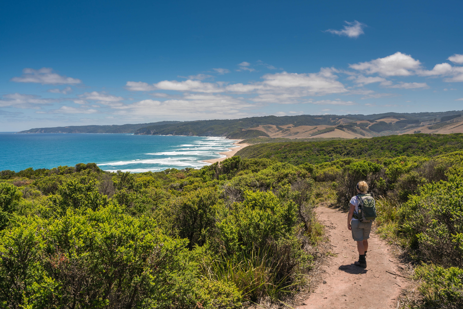 Views on Day 1 of the Great Ocean Walk.