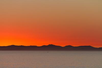 Delicate hues before sunrise