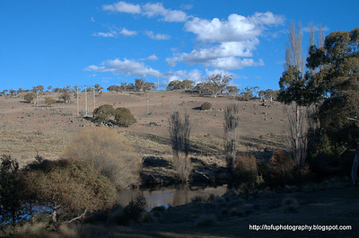 Jindabyne Lookout and the Thredbo River - August 2010