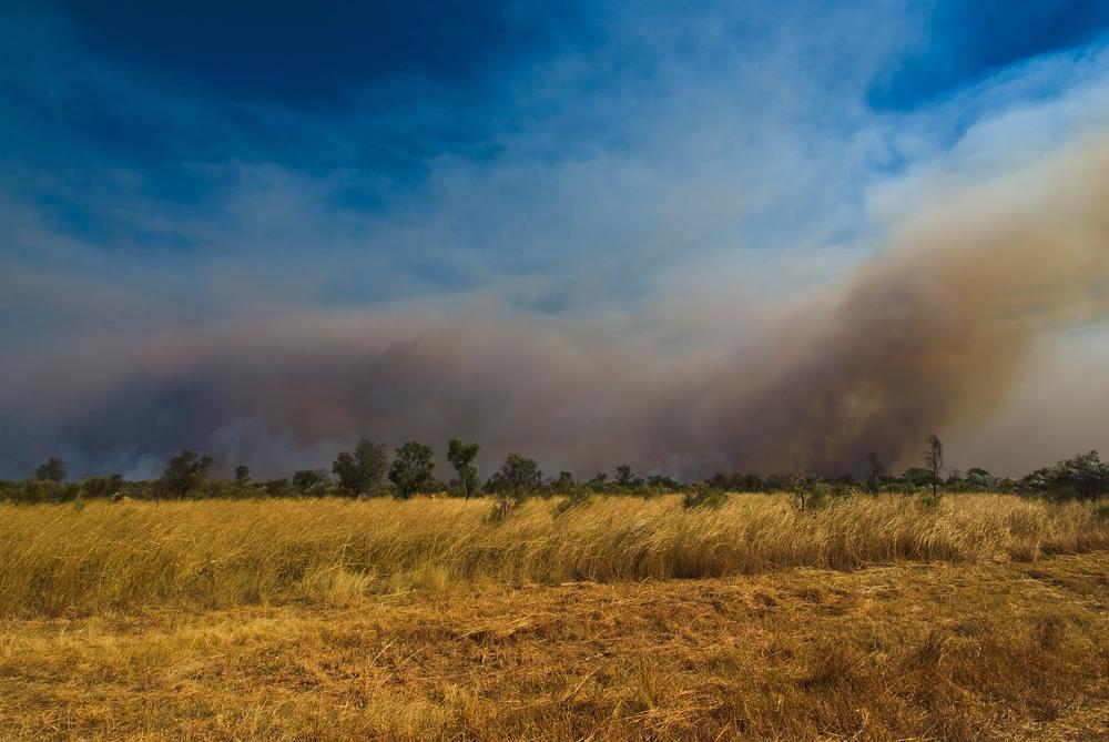 Bush Fire in the Kimberly Region of Western Australia