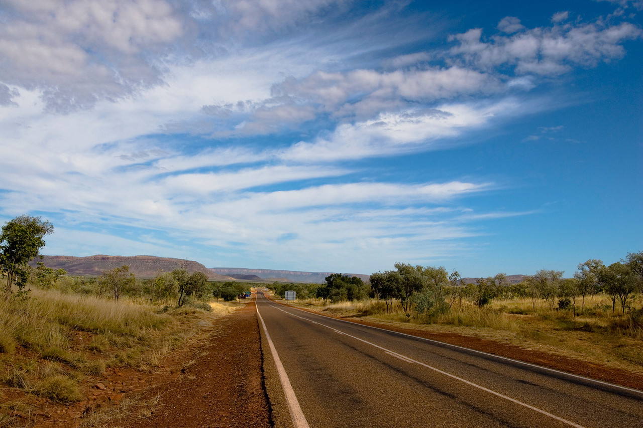 View of the Road - Kimberly Region, Western Australia