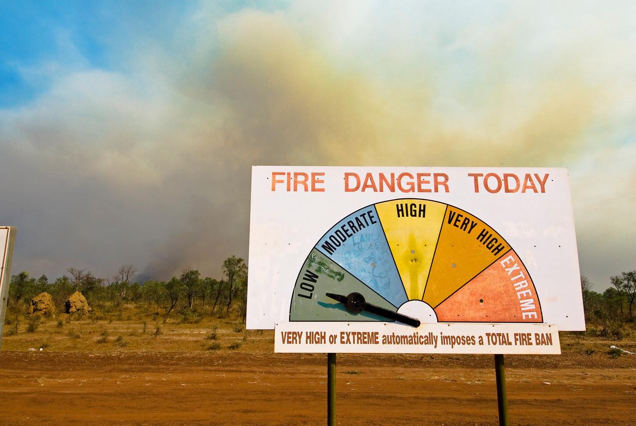 Brush Fire 2 - Kimberly Region, Western Australia