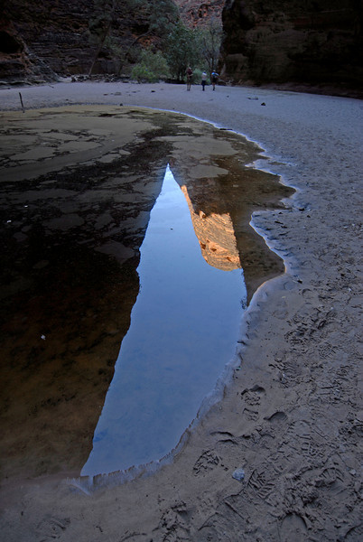 Bee Hive Dome Reflection in Pool 2, Purnululu National Park - Western Australia