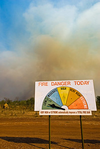 Brush Fire 3 - Kimberly Region, Western Australia