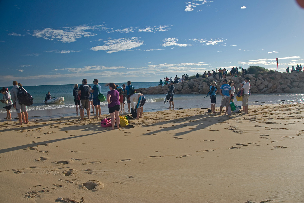 Waiting for the Boat - Exmouth, Western Australia