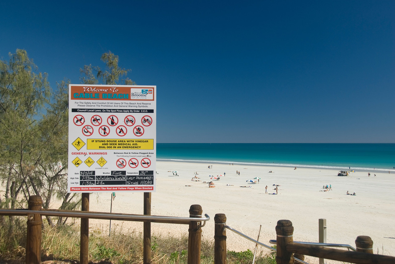 Cable Beach is the most dangerous place on Earth - Broome, Western Australia