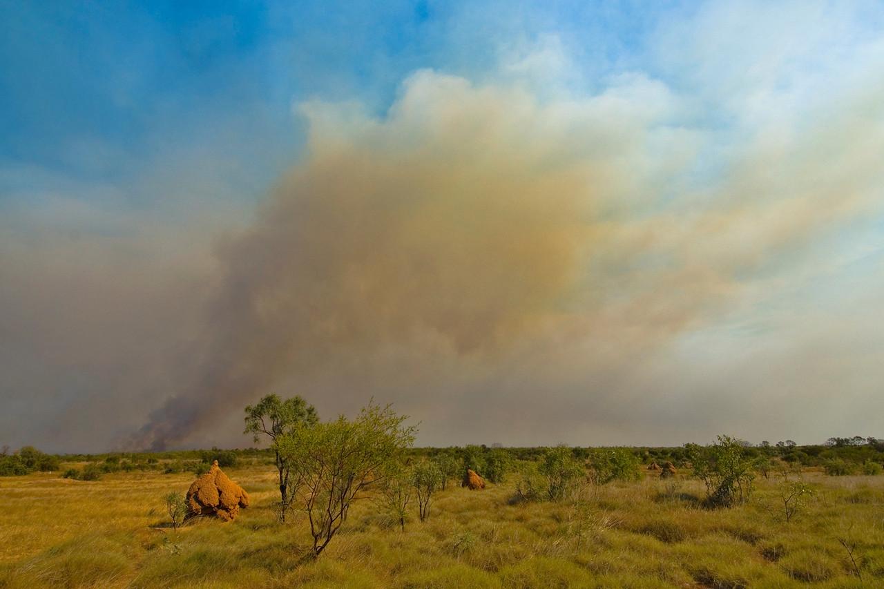 Brush Fire 4 - Kimberly Region, Western Australia