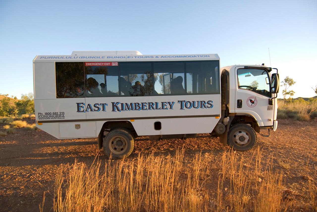 Tour Bus, Purnululu National Park - Western Australia