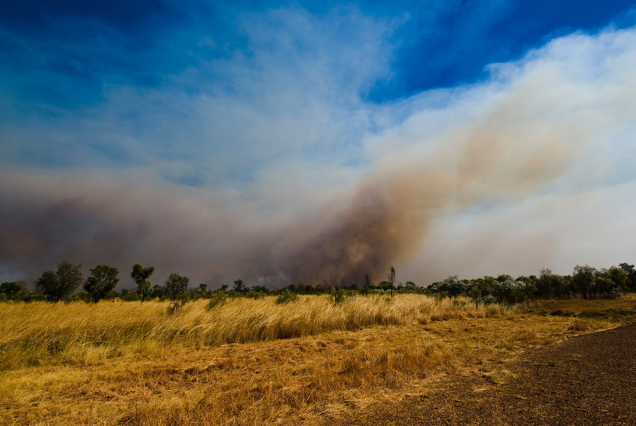 Brush Fire 10 - Kimberly Region, Western Australia