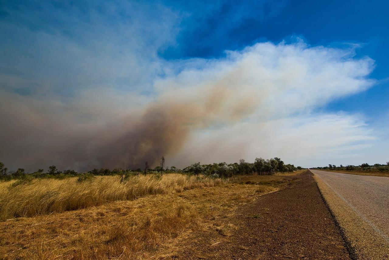 Brush Fire 11 - Kimberly Region, Western Australia