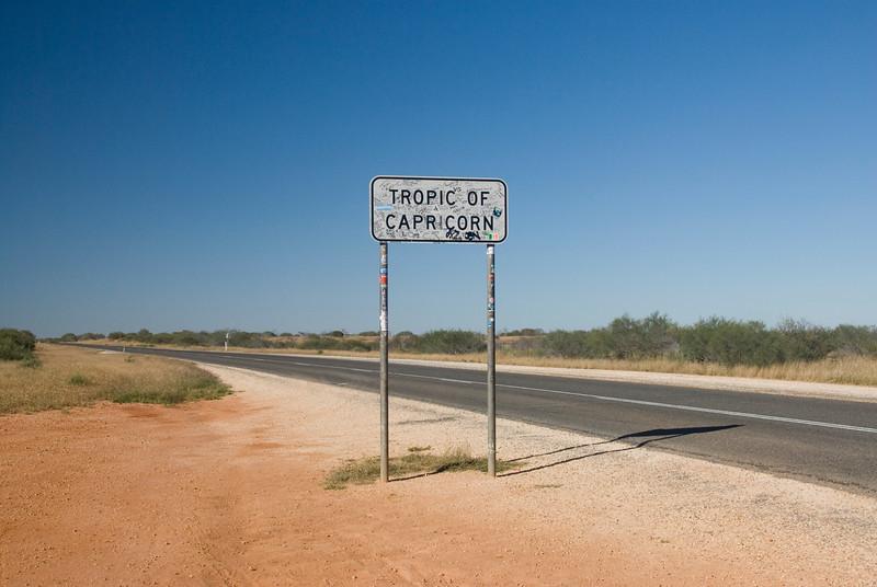 Tropic of Capricorn Sign 2 - Western Australia