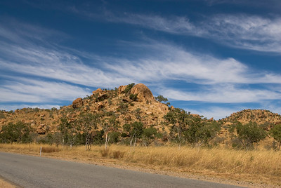 Rock Outcrop Roadside - Kimberly Region, Western Australia