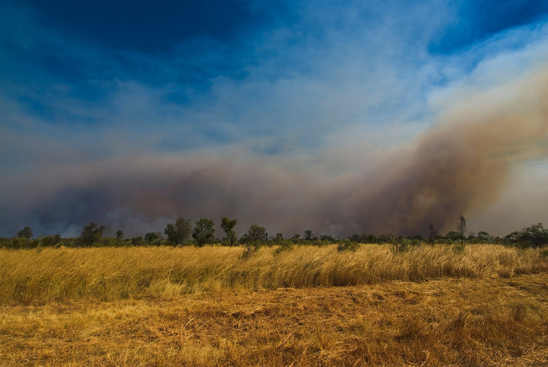 Brush Fire 12 - Kimberly Region, Western Australia