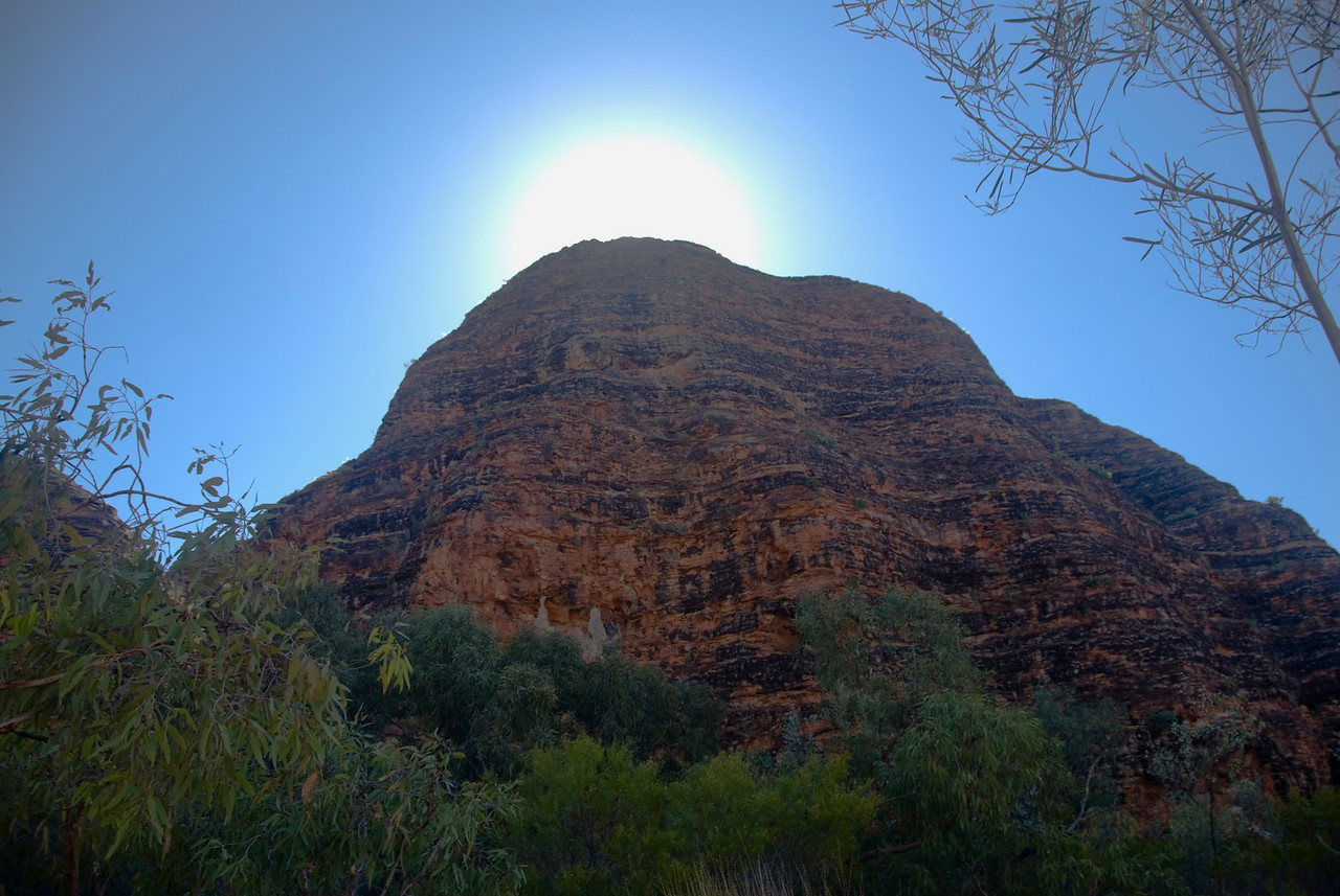 Bee Hive Domes and Solar Flare, Purnululu National Park - Western Australia