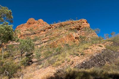 Sandstone Outcrop, Echidna Chasm, Purnululu National Park - Western Australia