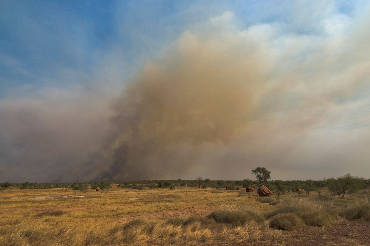 Brush Fire 6 - Kimberly Region, Western Australia