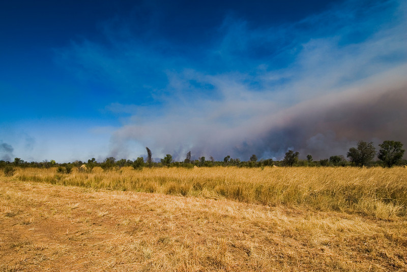 Brush Fire 8 - Kimberly Region, Western Australia