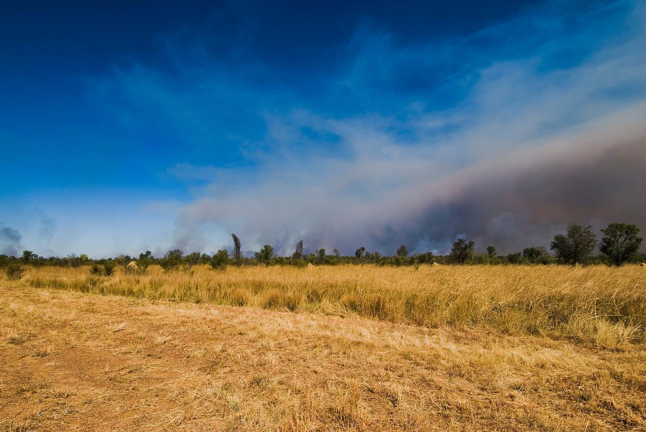 Brush Fire 8 - Kimberly Region, Western Australia