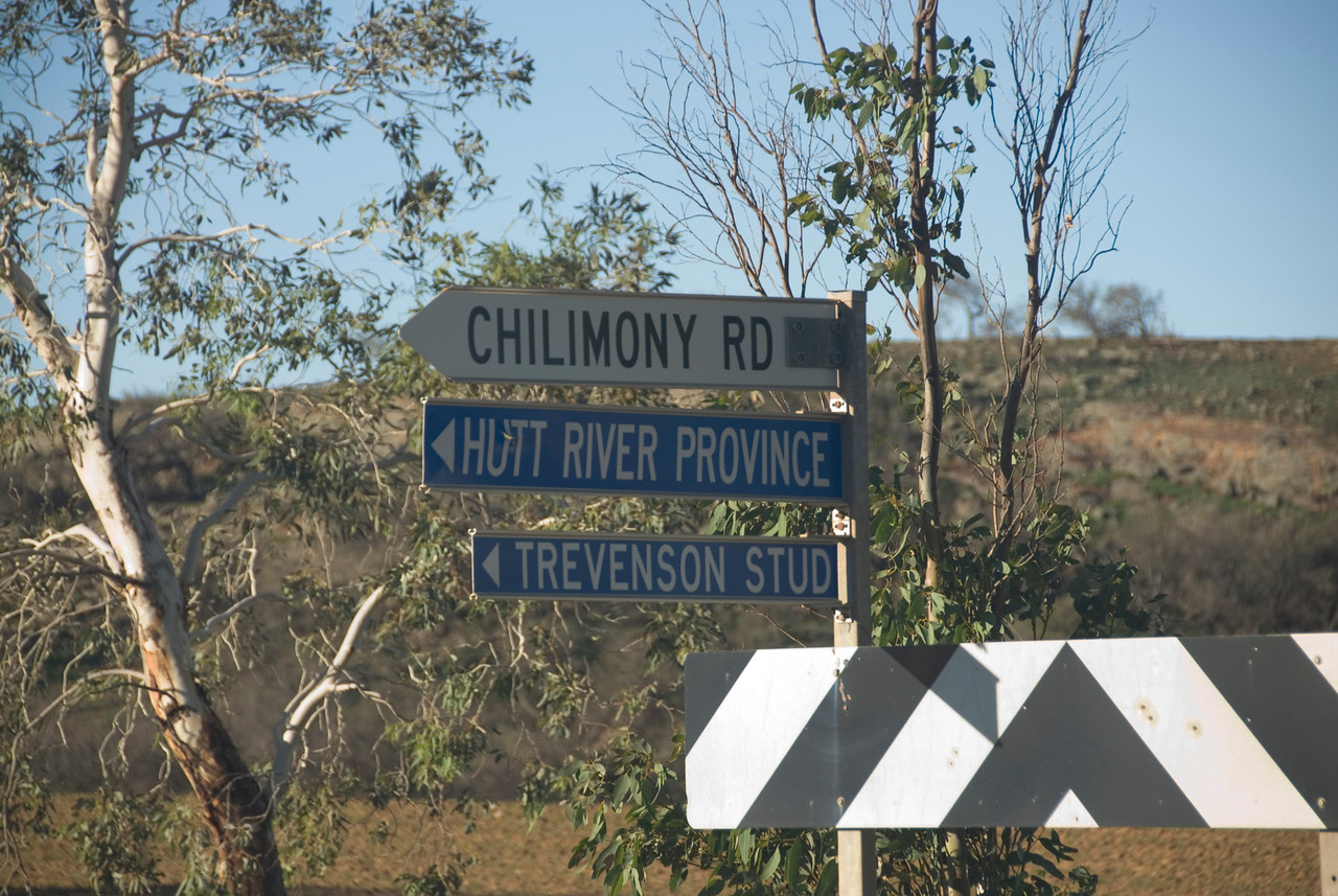 Hutt River Province Sign