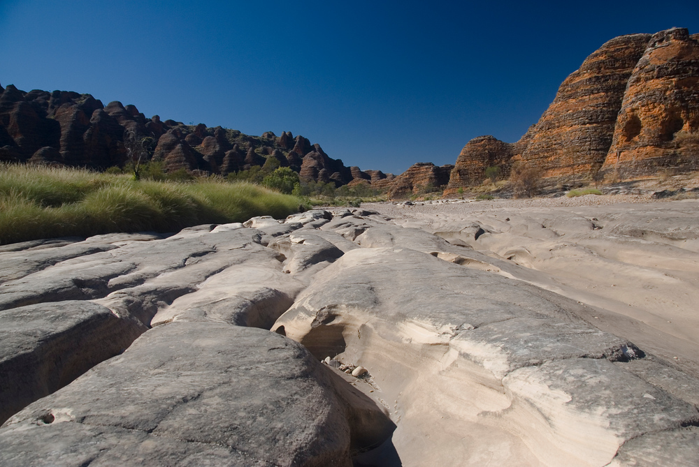 Dry Riverbed in Purnululu National Park, Western Australia