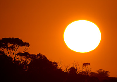 Image Title: Sunrise Over Northam.  Image No. kee9905bb