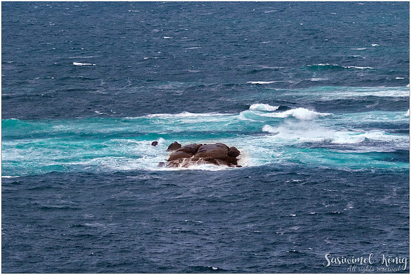 An area where Southern Ocean meets Indian Ocean - Cape Leeuwin Lighthouse
