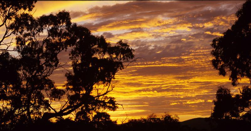 Sunset Mt. Majura