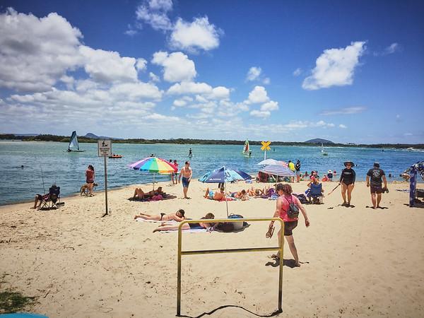 Strand in Maroochydore, Sunshine Coast
