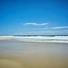 Der Strand in Noosa.