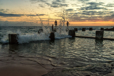 Swimmers, Coogee Beach